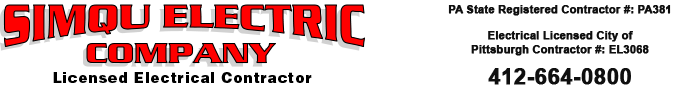 Simqu Electric Company - Licensed Electrical Contractor